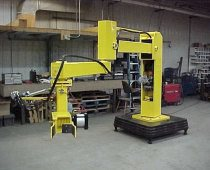 Articulating Arm Used For 350 lb. Projectiles Explosion Proof
