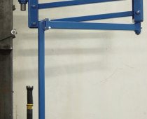 Torque Arm Balancer - 60 inch Horizontal Reach; 15 inch Up and Down Movement; Column Mounted; 52 inch Vertical Travel